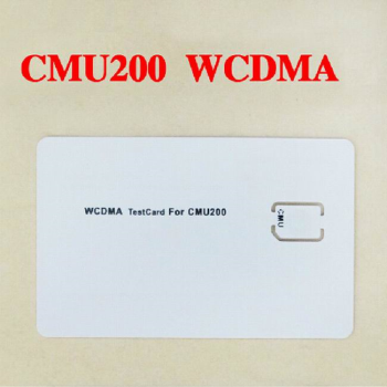 WCDMA test card for CMU200